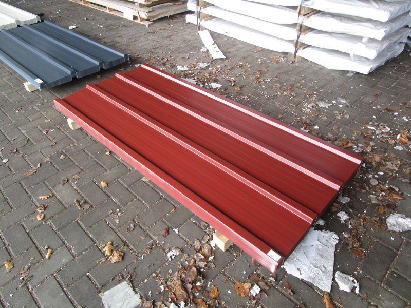 7 90 qm trapezblech dachplatten profil 25 280 in rotbraun 2000 mm ebay. Black Bedroom Furniture Sets. Home Design Ideas