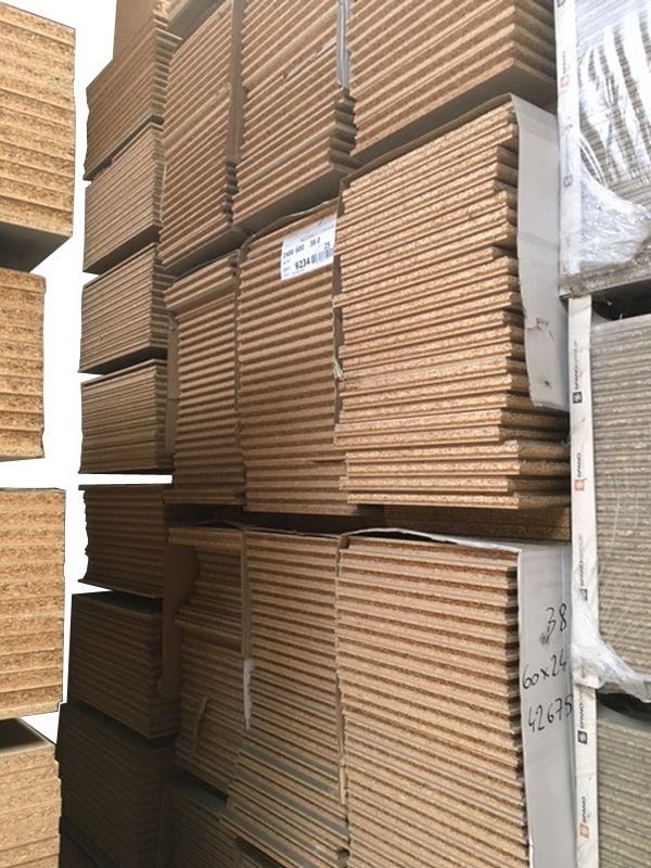 15 83 m 2400 x 600 mm spanplatte holzplatte einlegeboden palettenregal ebay. Black Bedroom Furniture Sets. Home Design Ideas